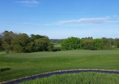 Blackwolf Run Meadow Valleys Golf Course Hole 15 Mercy Green