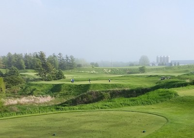 Blackwolf Run Meadow Valleys Golf Course Hole 15 Mercy Tee Box