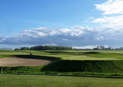 Blackwolf Run Meadow Valleys Golf Course Hole 16 Rolling Thunder Green-JK