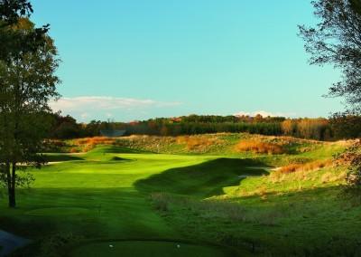 Blackwolf Run Meadow Valleys Golf Course Hole 3 Pine Valley Tee