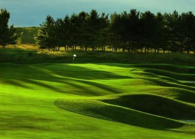 Blackwolf Run Meadow Valleys Golf Course Hole 6 Serpentine Approach