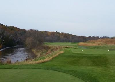 Blackwolf Run - River Golf Course Hole 1 Snake Tee