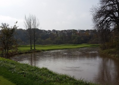 Blackwolf Run - River Golf Course Hole 11 Rise and Fall Second Shot