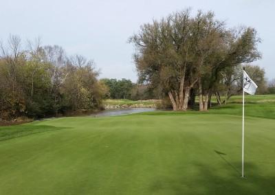 Blackwolf Run - River Golf Course Hole 13 Tall Timber Green