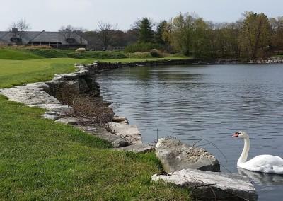 Blackwolf Run - River Golf Course Hole 14 Blind Alley Lake