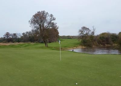 Blackwolf Run - River Golf Course Hole 16 Unter Der Linden Green
