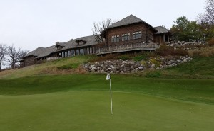 Blackwolf Run - River Golf Course Hole 18 Dyehard Green