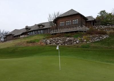 Blackwolf Run - River Golf Course Hole 18 Dyehard Green