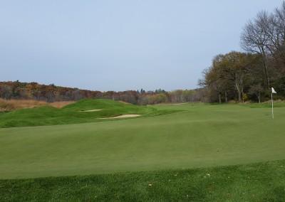 Blackwolf Run - River Golf Course Hole 2 Burial Mounds Green