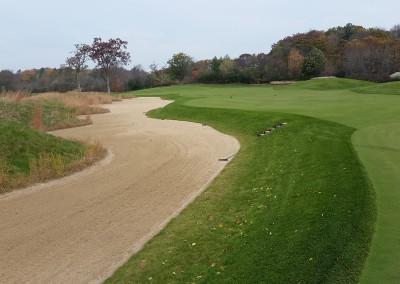 Blackwolf Run - River Golf Course Hole 3 Gotcha Massive Bunker