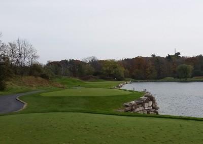 Blackwolf Run - River Golf Course Hole 4 Swan Lake Tee