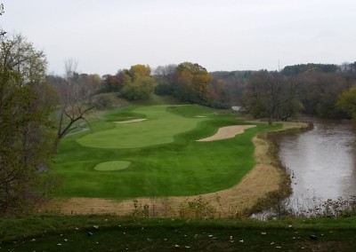 Blackwolf Run - River Golf Course Hole 5 Made in Heaven Tee