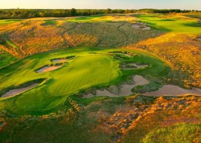 Erin Hills Golf Course Green