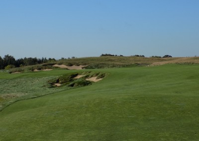Erin Hills Golf Course Hole 1 Lay Up