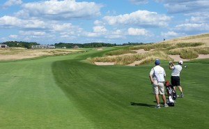 Erin Hills Golf Course Hole 18 Fairway