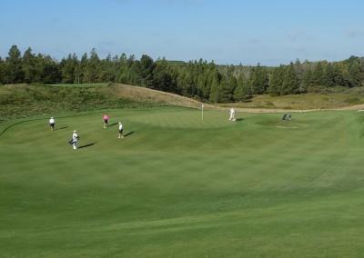 Erin Hills Golf Course Hole 2 Approach