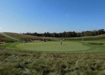 Erin Hills Golf Course Hole 5 Green