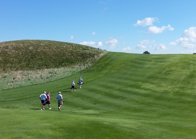 Erin Hills Golf Course Hole 8 Hill