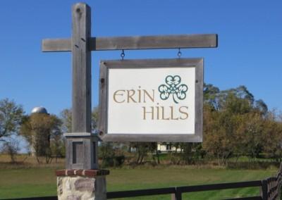Erin Hills Golf Course Sign