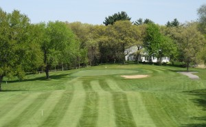 Reedsburg Country Club Hole 17 Approach