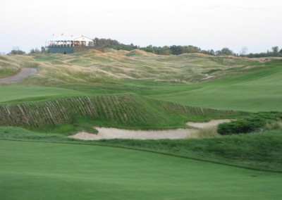 Whistling Straits Straits Course 2010 PGA Hole 11 Approach