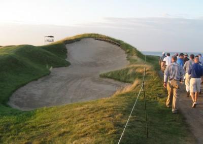 Whistling Straits Straits Course 2010 PGA Hole 11 Fairway Bunker