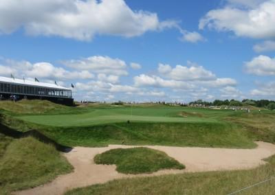 Whistling Straits Straits Course 2015 PGA Hole 1 Green