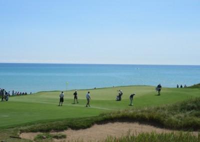 Whistling Straits Straits Course 2015 PGA Hole 2 Green