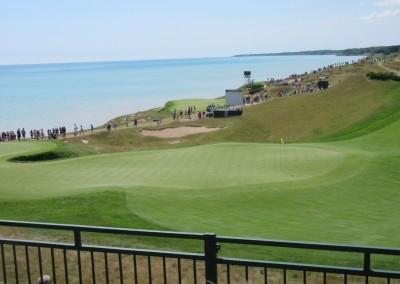 Whistling Straits Straits Course 2015 PGA Hole 6 Green