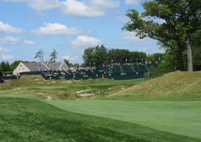 Whistling Straits Straits Course 2015 PGA Hole 9 Approach
