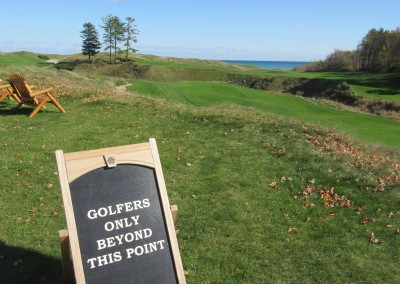 Whistling Straits - Straits Course Back 9 Golfers Only