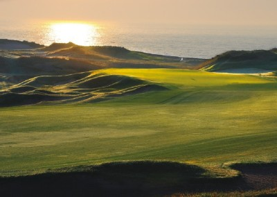 Whistling Straits Straits Course Hole 1 Approach