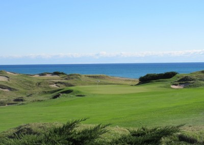 Whistling Straits - Straits Course Hole 1 Outward Bound Approach 3
