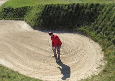 Whistling Straits - Straits Course Hole 11 Sand Box Giant Bunker