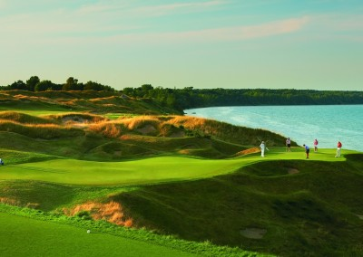 Whistling Straits Straits Course Hole 12 Green
