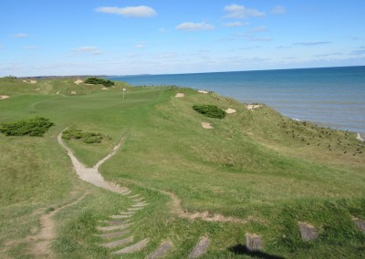 Whistling Straits - Straits Course Hole 12 Pop Up Stairs