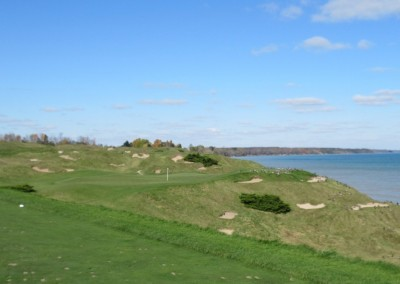 Whistling Straits - Straits Course Hole 12 Pop Up Tee