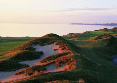Whistling Straits Straits Course Hole 2 Fairway Bunker