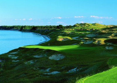 Whistling Straits Straits Course Hole 3 Tee