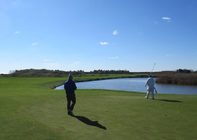 Whistling Straits - Straits Course Hole 5 Snake Green