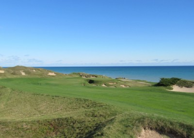 Whistling Straits - Straits Course Hole 6 Gremlin's Ear