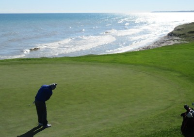 Whistling Straits - Straits Course Hole 8 On The Rocks Green