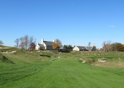 Whistling Straits - Straits Course Hole 9 Down and Dirty Approach