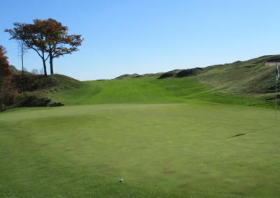 Whistling Straits - Straits Course Hole 9 Down and Dirty Green
