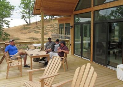 Sand Valley Golf Resort Cottage Deck