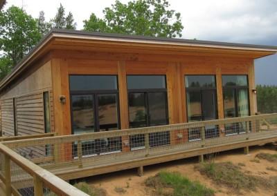 Sand Valley Golf Resort Cottage Front
