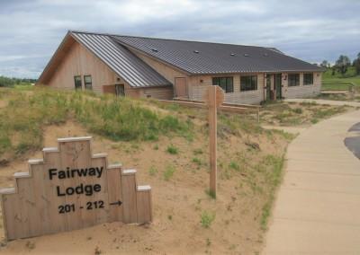 Sand Valley Golf Resort Fairway Lodge Sign