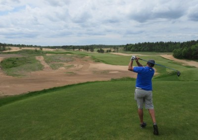 Sand Valley Golf Resort Hole 1 Tee