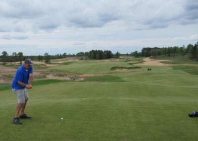 Sand Valley Golf Resort Hole 2 Tee
