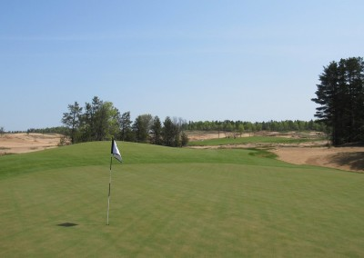 Sand Valley Golf Resort Hole 3 Green